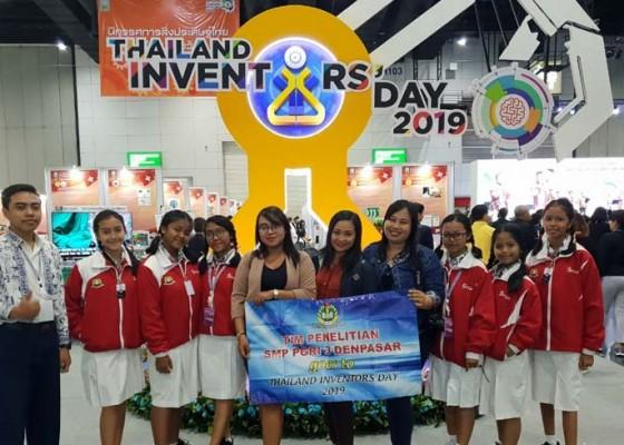 Nusabali.com - tim-peneliti-remaja-smp-pgri-3-denpasar-sabet-2-medali-perak