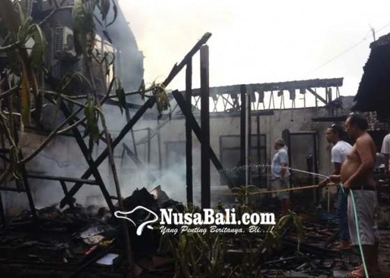 Nusabali.com - usai-mebanten-gudang-di-ubud-terbakar
