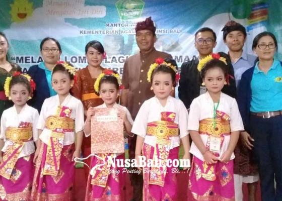 Nusabali.com - kemenag-karangasem-tetapkan-lagu-hindu