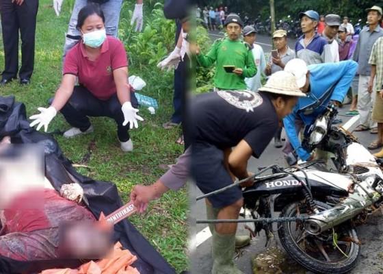 Nusabali.com - motor-ditemukan-di-bawah-jembatan-jenazah-hanyut-sekitar-500-meter