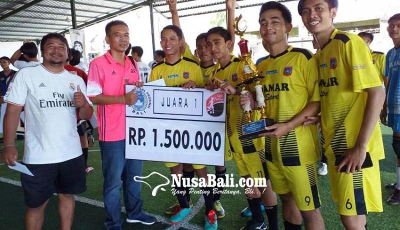 www.nusabali.com-damar-fc-juara-turnamen-u-21