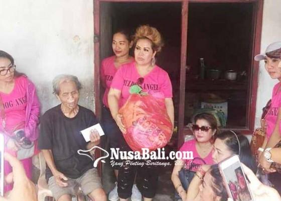 Nusabali.com - buldog-angel-baksos-ke-warga-berkebutuhan-khusus
