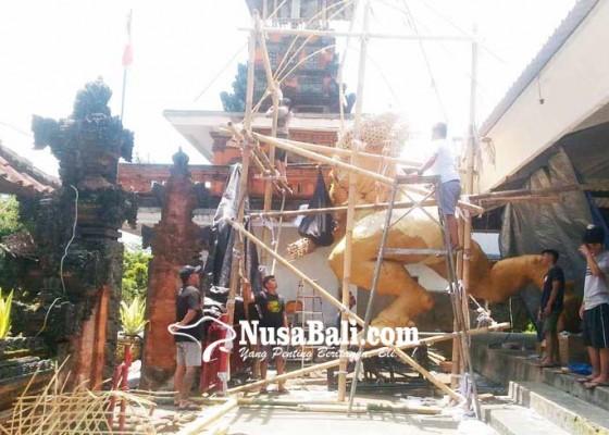 Nusabali.com - ogoh-ogoh-st-bhuwana-werdi-seberat-15-ton