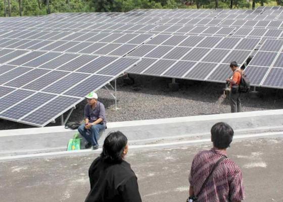 Nusabali.com - produksi-listrik-plts-menurun