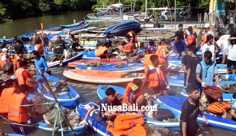 www.nusabali.com-lomba-susur-mangrove-kumpulkan-229-ton-sampah