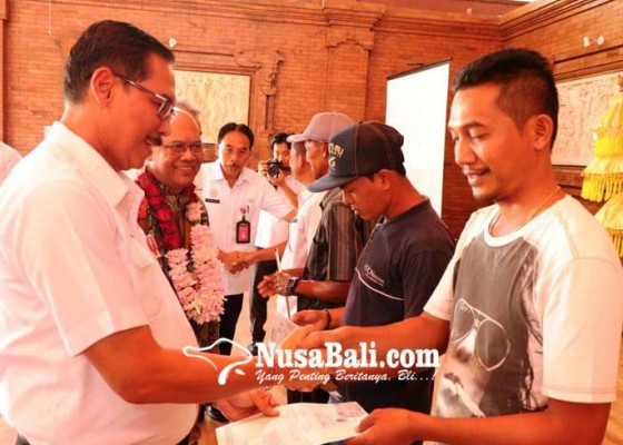 Nusabali.com - disdukcapil-badung-launching-kampung-gisa-di-kuta-selatan