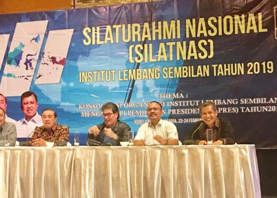 Nusabali.com - gelar-silatnas-lembang-9-tegaskan-dukungan-pilpres
