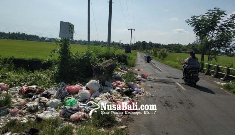 www.nusabali.com-sampah-berserakan-di-jembatan-perbatasan-lelateng-baluk