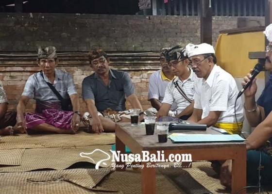Nusabali.com - mantan-sekda-badung-didaulat-sebagai-bendesa