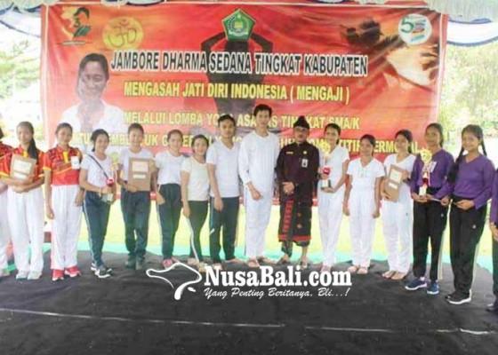 Nusabali.com - sman-1-amlapura-dan-sman-sidemen-juara-yoga