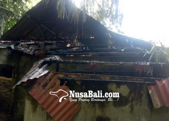 Nusabali.com - mesin-penggilingan-padi-terbakar