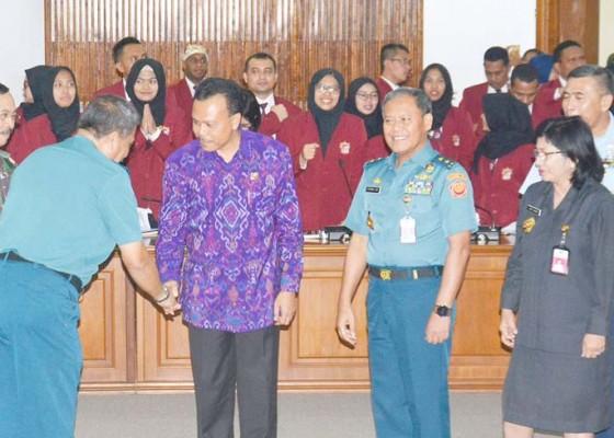 Nusabali.com - sekda-provinsi-bali-paparkan-kesiapsiagaan-hadapi-bencana