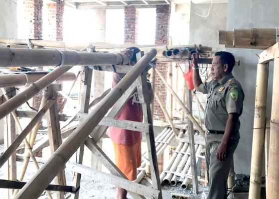 Nusabali.com - satpol-pp-jaring-9-pekerja-proyek-tanpa-skts