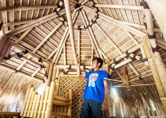 Nusabali.com - kerajinan-gazebo-bambu