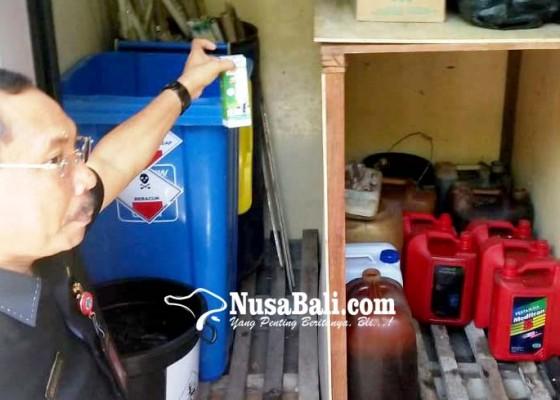 Nusabali.com - dinas-lhk-sidak-pengolahan-limbah-b3-rs