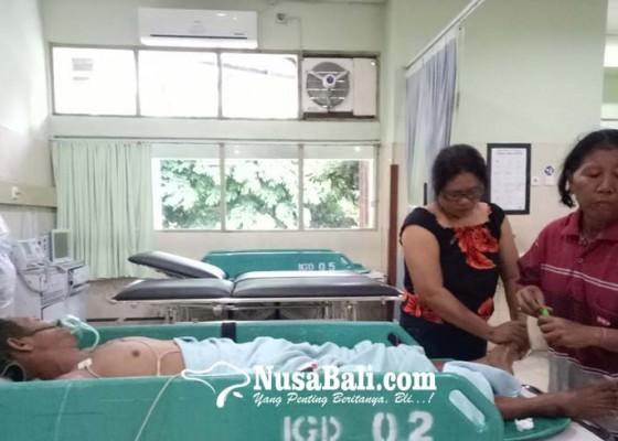 Nusabali.com - majukut-petani-tersambar-petir-di-sawah