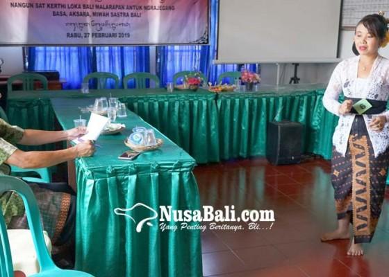 Nusabali.com - pkk-desa-peringsari-diadu-lomba-masatua-bali