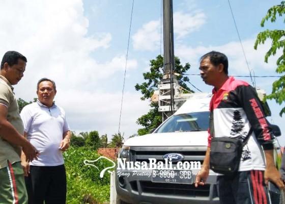 Nusabali.com - mobil-tower-seluler-di-lahan-eks-mudaria-meresahkan