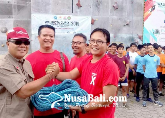 Nusabali.com - jembrana-dan-tabanan-absen-di-panjat-tebing-walikota-cup