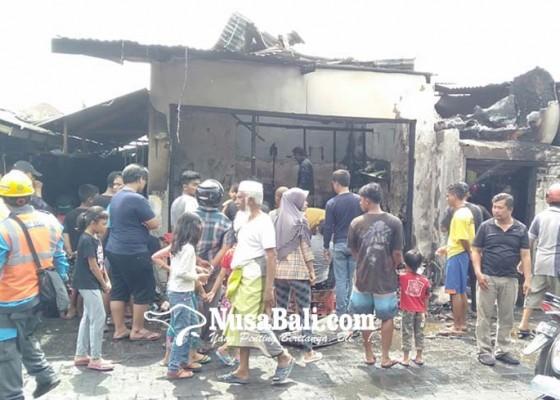 Nusabali.com - pertamini-meledak-dua-rumah-hangus