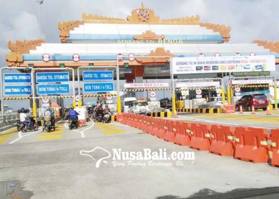 Nusabali.com - tol-bali-mandara-tutup-32-jam-hilang-rp-05-m