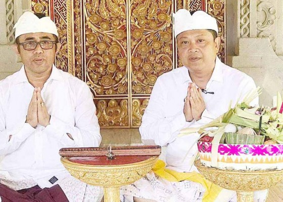 Nusabali.com - rai-mantra-dan-jaya-negara-ucapkan-selamat-hari-suci-nyepi-caka-1941