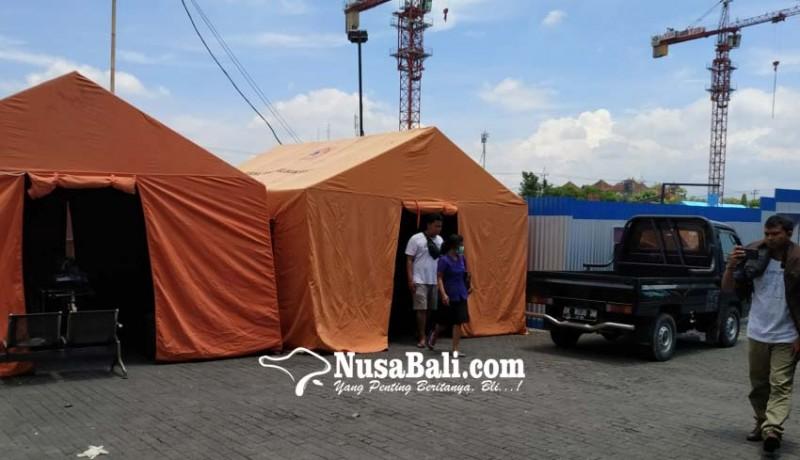 www.nusabali.com-bangun-tenda-untuk-tampung-jenazah