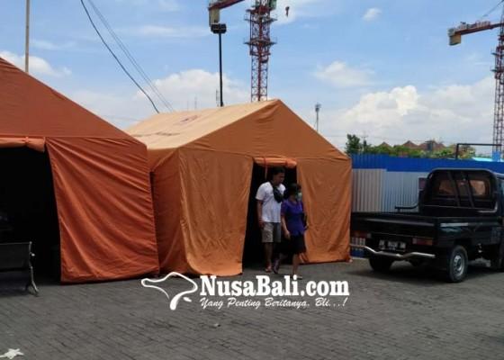 Nusabali.com - bangun-tenda-untuk-tampung-jenazah