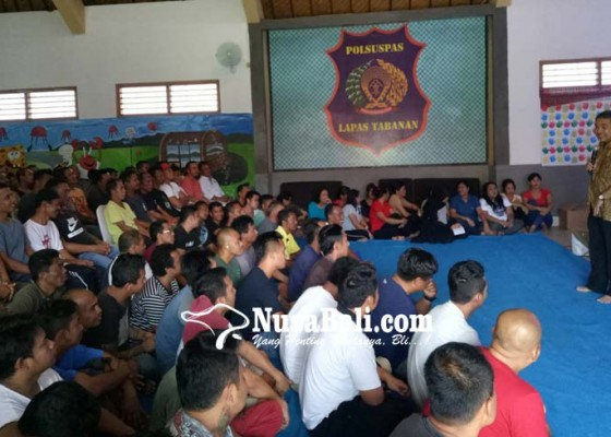 Nusabali.com - lapas-tabanan-datangkan-motivator-nasional