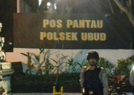 Nusabali.com - amankan-nyepi-polsek-ubud-siagakan-108-personel