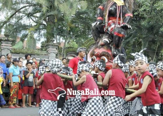 Nusabali.com - 23-paud-semarakkan-parade-ogoh-ogoh-mini