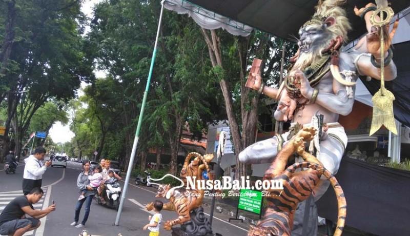 www.nusabali.com-dlhk-kewalahan-tangani-bekas-ogoh-ogoh
