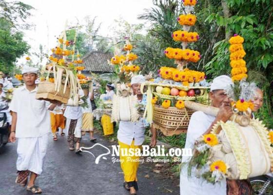 Nusabali.com - karya-tawur-di-besakih-diguyur-hujan