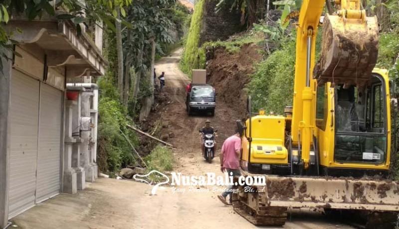 www.nusabali.com-akses-jalan-sudaji-sawan-sudah-normal