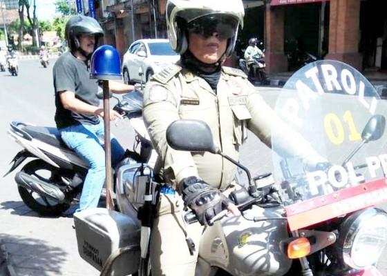 Nusabali.com - motor-satpol-pp-sering-ngambek-di-jalan