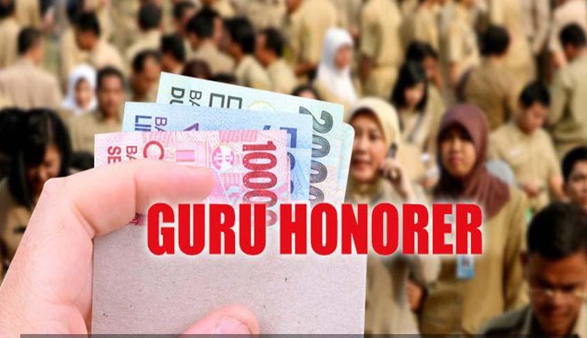 Hasil gambar untuk guru honorer