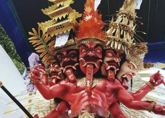 Nusabali.com - phdi-imbau-pralina-ogoh-ogoh