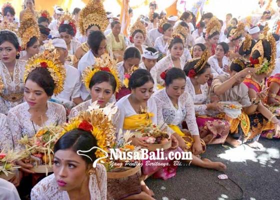 Nusabali.com - matatah-massal-dibiayai-apbdes