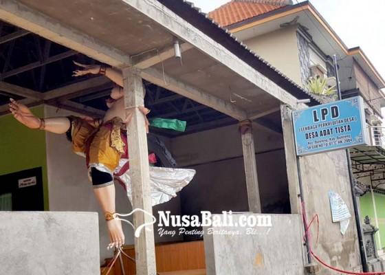 Nusabali.com - puluhan-ogoh-ogoh-tak-dipralina
