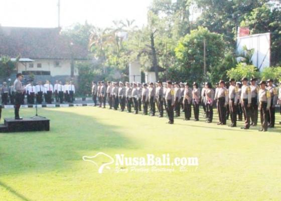 Nusabali.com - polres-klungkung-canangkan-zona-integritas