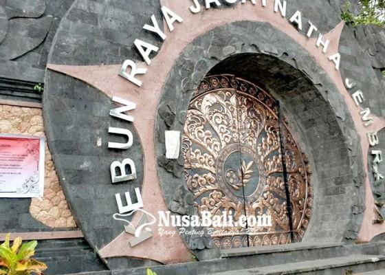 Nusabali.com - tutup-sementara-kunjungan-ke-kebun-raya-jagatnatha