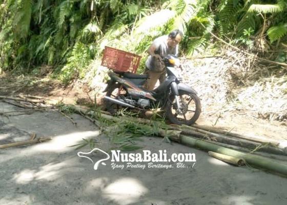 Nusabali.com - kas-banjar-dipakai-perbaiki-jalan-kabupaten