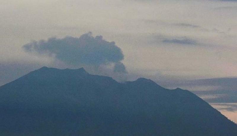 www.nusabali.com-dua-kali-erupsi-pangayah-di-besakih-tenang