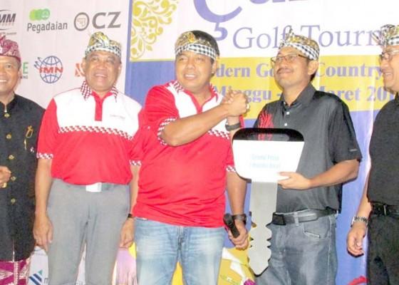 Nusabali.com - panitia-nasional-hari-raya-nyepi-gelar-turnamen-golf-for-charity