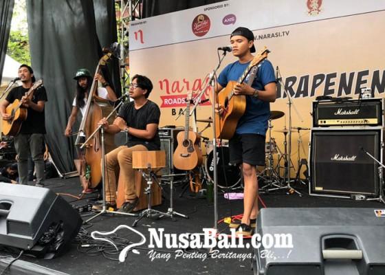 Nusabali.com - keseruan-narasi-road-show-creartor-festival-di-isi-denpasar