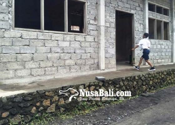 Nusabali.com - gedung-lab-bahasa-belum-tuntas
