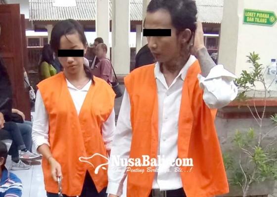 Nusabali.com - dua-sejoli-residivis-narkoba-dituntut-14-tahun
