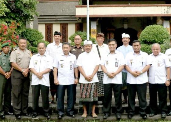 Nusabali.com - wabup-sedana-arta-terima-kunjungan-tim-kajida-setjen-wantanas
