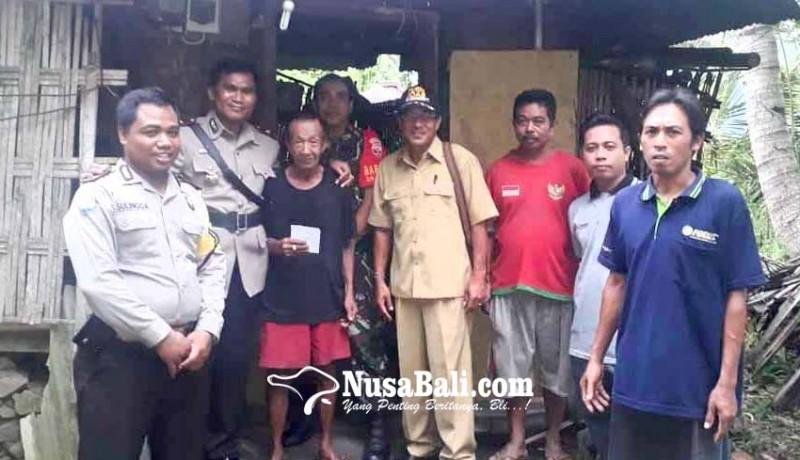 www.nusabali.com-polsek-manggis-bantu-penyandang-disabilitas-di-abian-canang