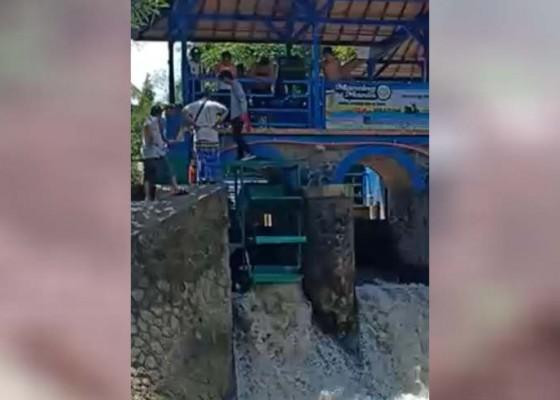 Nusabali.com - tukad-bindu-dipasangi-plthm-berkapasitas-7500-watt